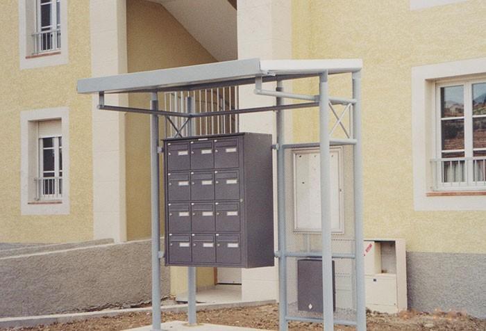 Abris boites aux lettres - Mobilier municipal