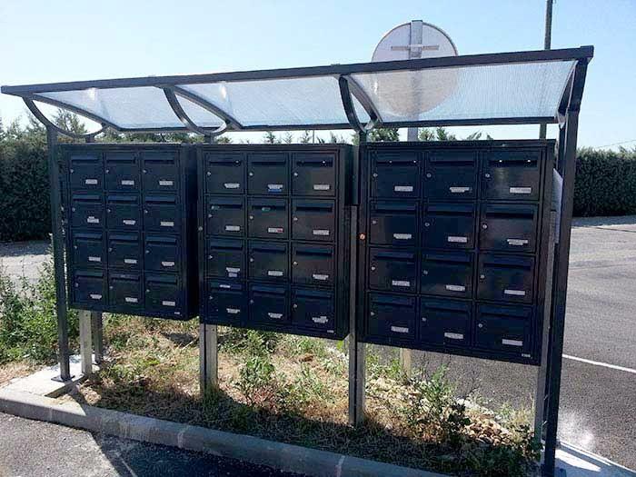 Menuiserie boites aux lettres - Mobilier municipal