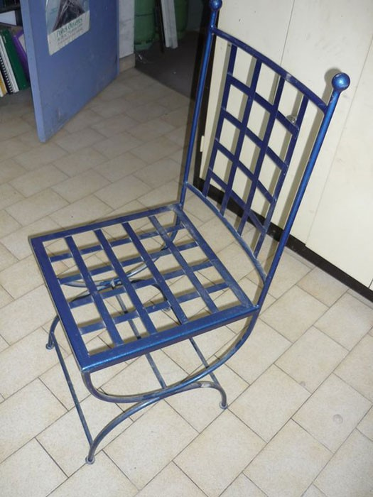 Mobiliers meubles - Chaise fer forge interieur ...