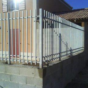 Cloture grilles