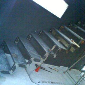 escalier fer droit - ferronnerie sigonneau -pernes les fontaines