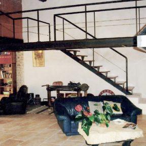 Escalier passerelle design