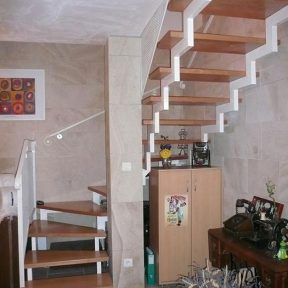 escalier fer tournant - ferronnerie sigonneau -Lourmain