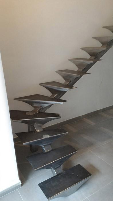 Escalier ferronnerie sur mesure
