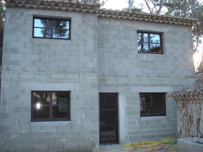 Menuiserie métallique maison sur mesure