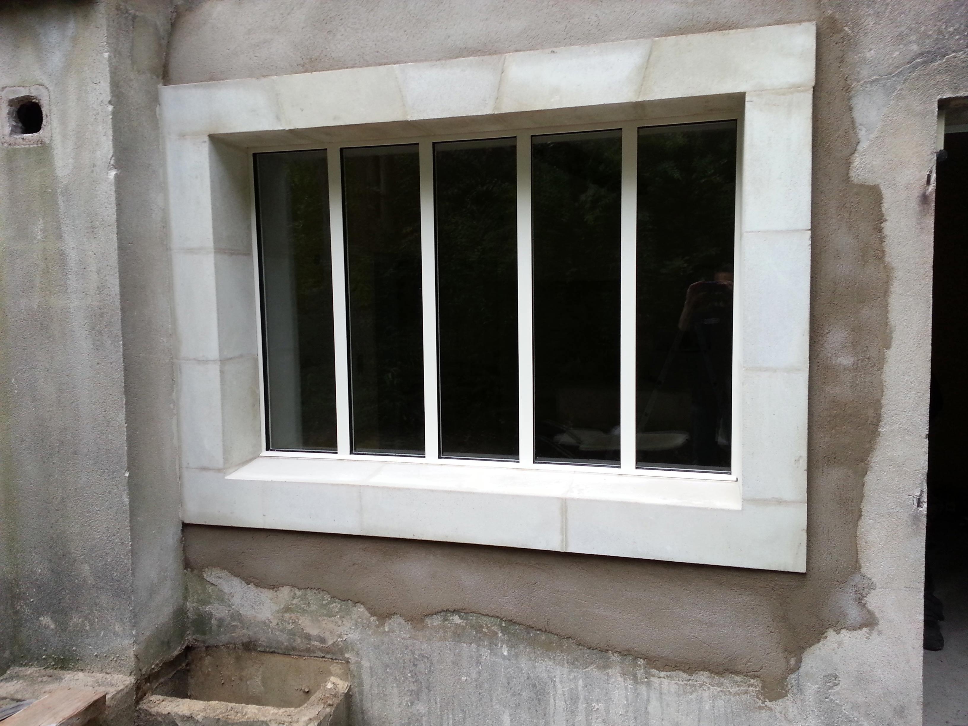 Fenêtre fer menuiserie sur mesure