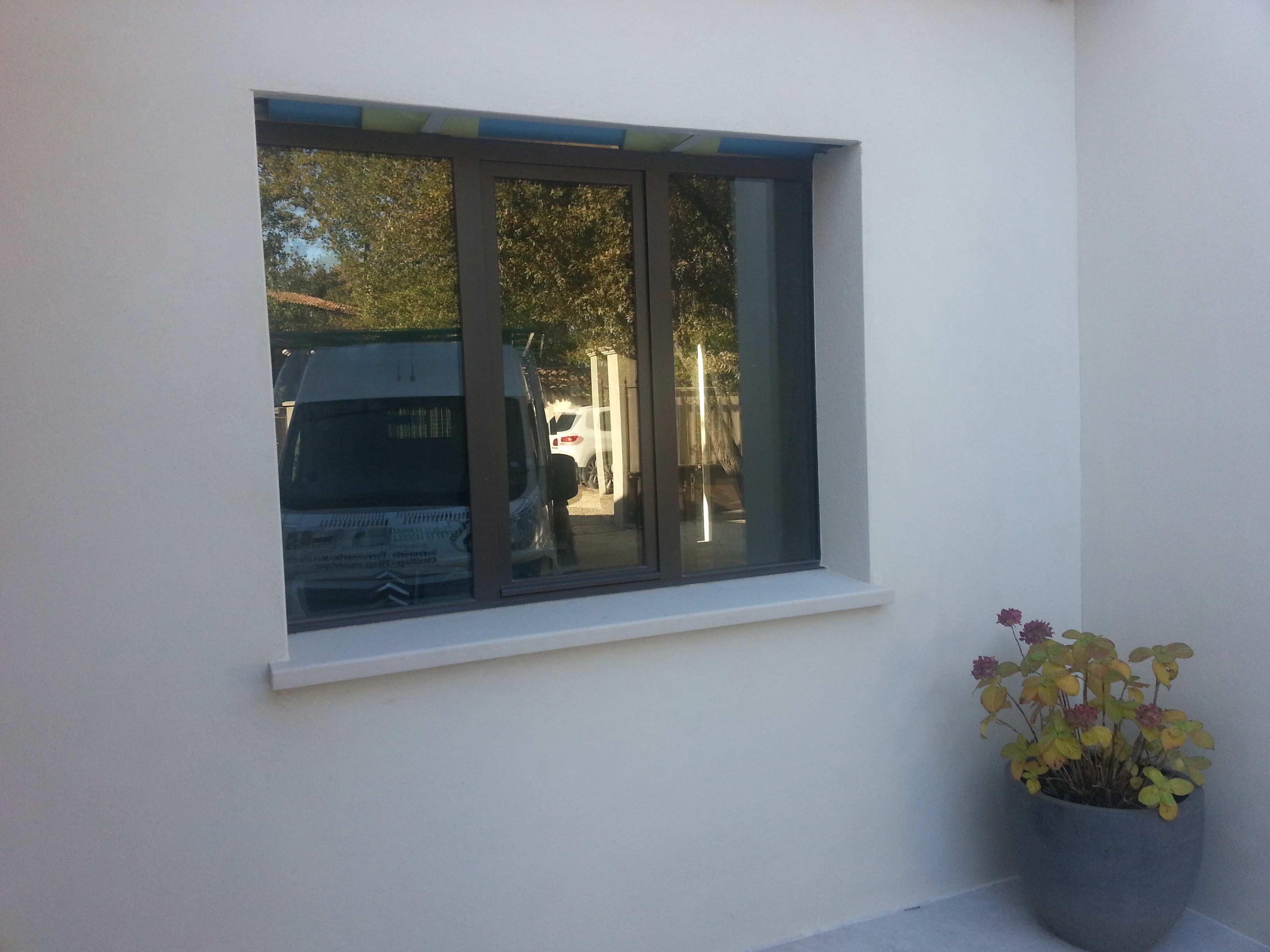 Fenêtre fer menuiserie