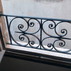 Garde corps fenêtre ferronnerie
