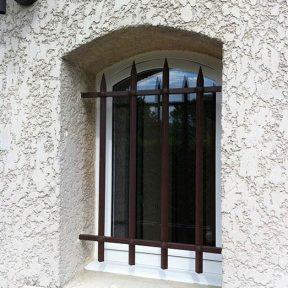 Grille fenêtre de défense