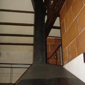 Hôte cheminée en fer