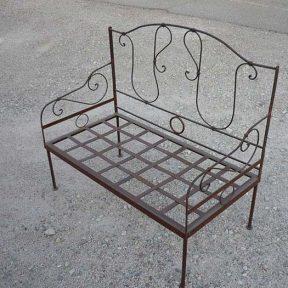 Meuble salon canapé fer forgé