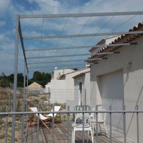 Pergolas construction neuve