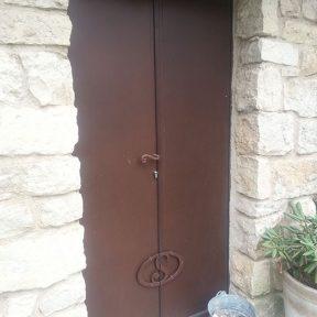 Portes métalliques ferronnier