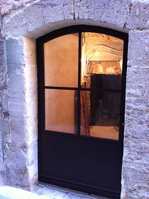 amazing portes with porte en fer forge exterieur. Black Bedroom Furniture Sets. Home Design Ideas