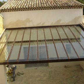 Verrière intérieure de toiture
