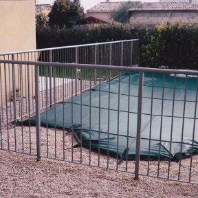 Cloture de protection piscine