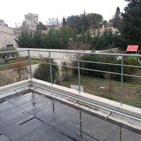 Grille garde corps balcon étage