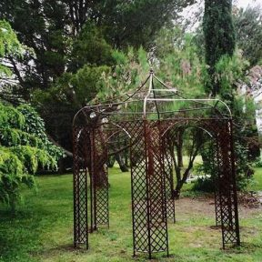 Kiosque jardin sur mesure