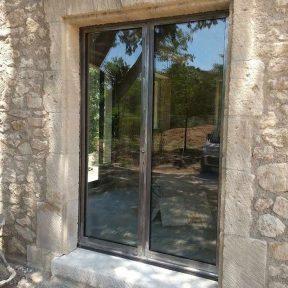 Menuiserie métallique baies porte - fenêtre