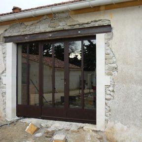 ferronnerie menuiserie métallique baies portes