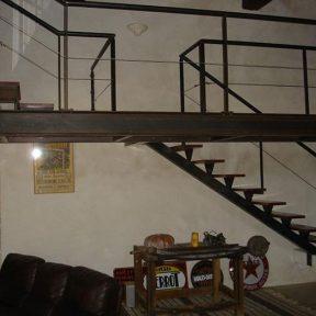 Mezzanine ferronnier