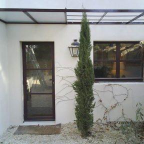 Porte et fenêtre métalliques