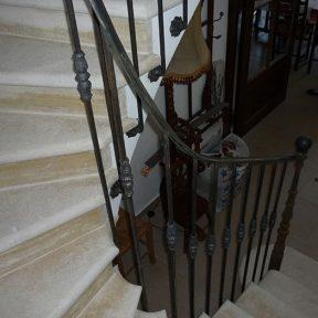 Rampe escalier traditionnel