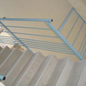 Rampe escalier fer
